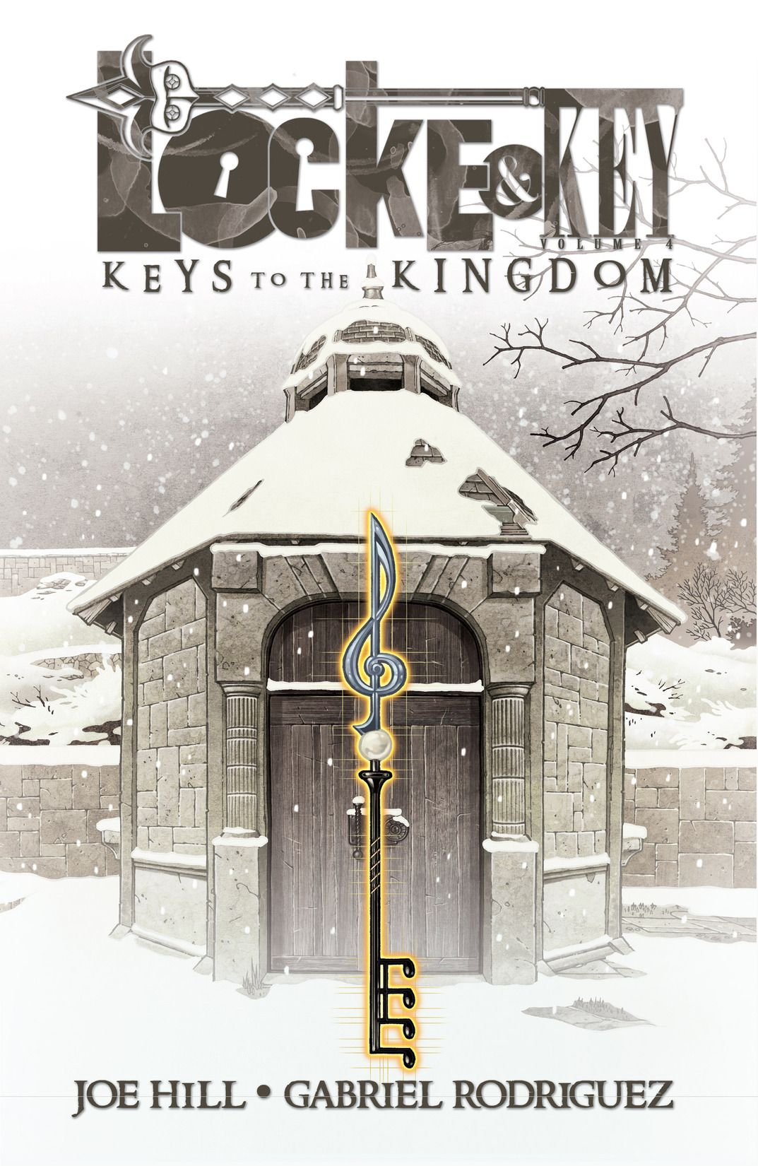 keys of the kingdom, is written by the one and only, Joe Hill. The art is by the amazing, Gabriel Rodriguez