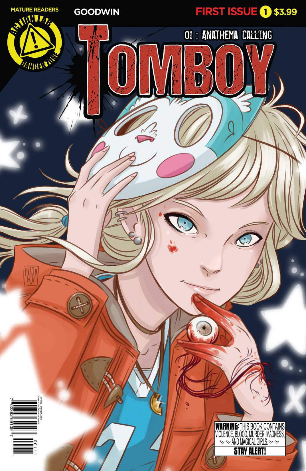 Tomboy comic made by Mia Goodwin and published by action labs danger zone