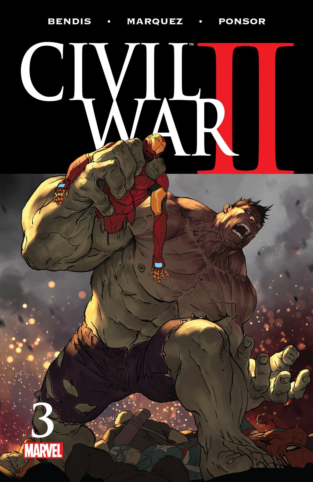 marvel entertainment civil war II issue 3, 2016