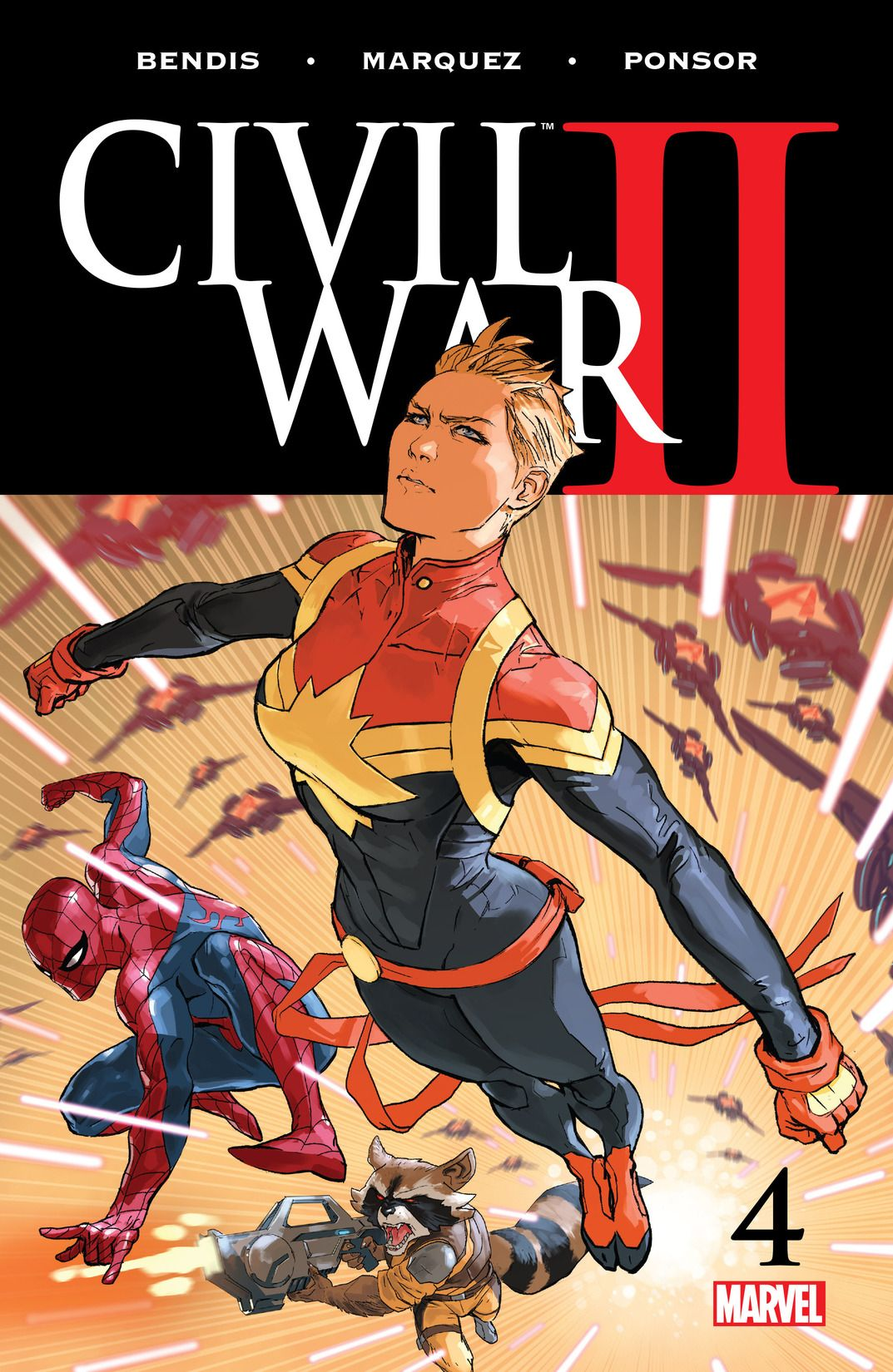 Civil war issue 4 from marvel
