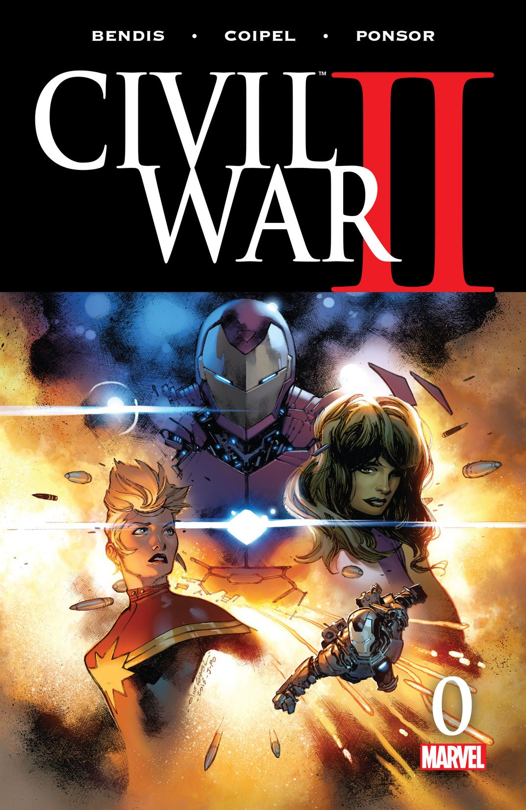 civil war II issue 0 by marvel entertainment