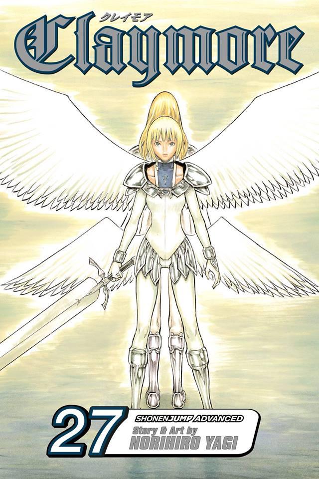 Manga from Jumpcomics, Claymore volume 27
