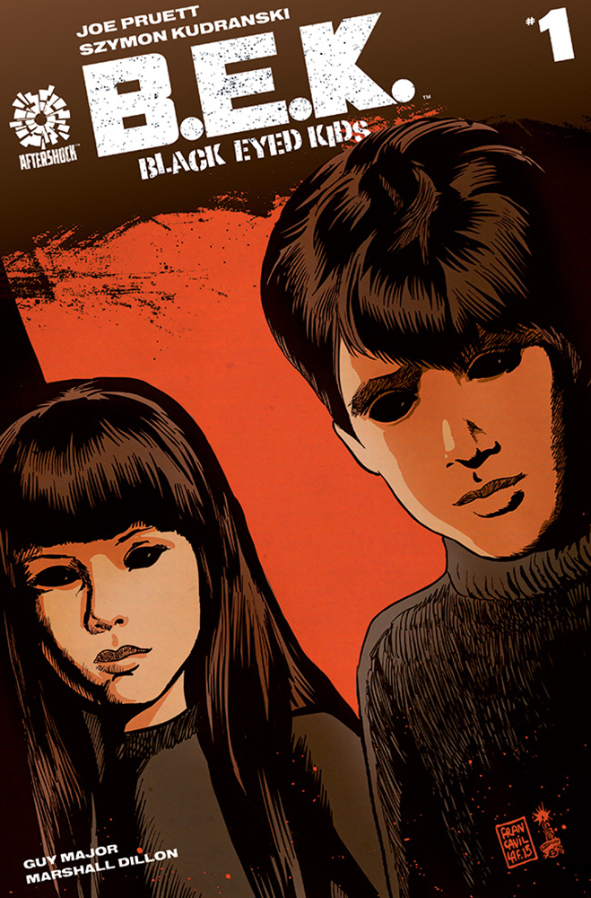 Aftershock comics presents: Black Eyed Kids, and with free preview