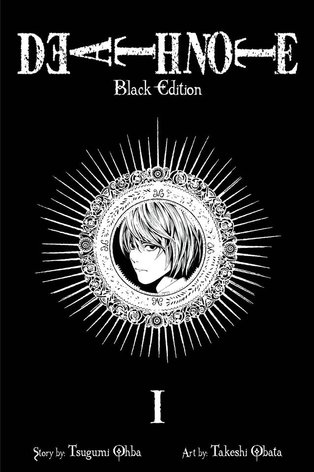 Death Note vol 1 black edition, collects volume 1 and volume 2