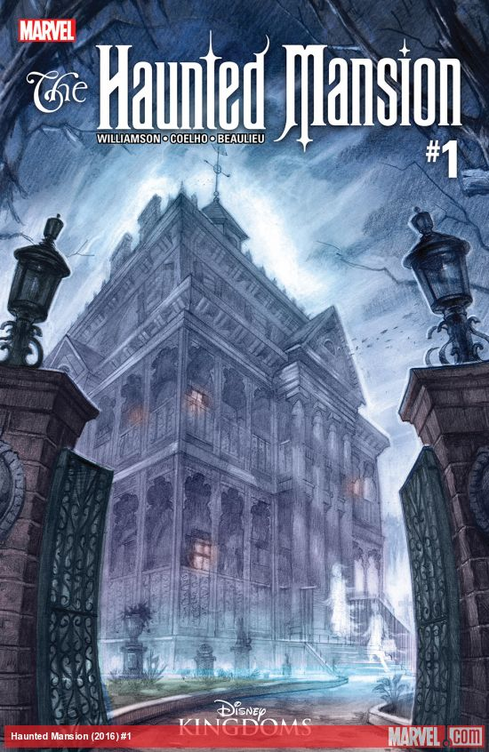 Marvel comics releases the newest addition to the Haunted Mansion series, with free previews!