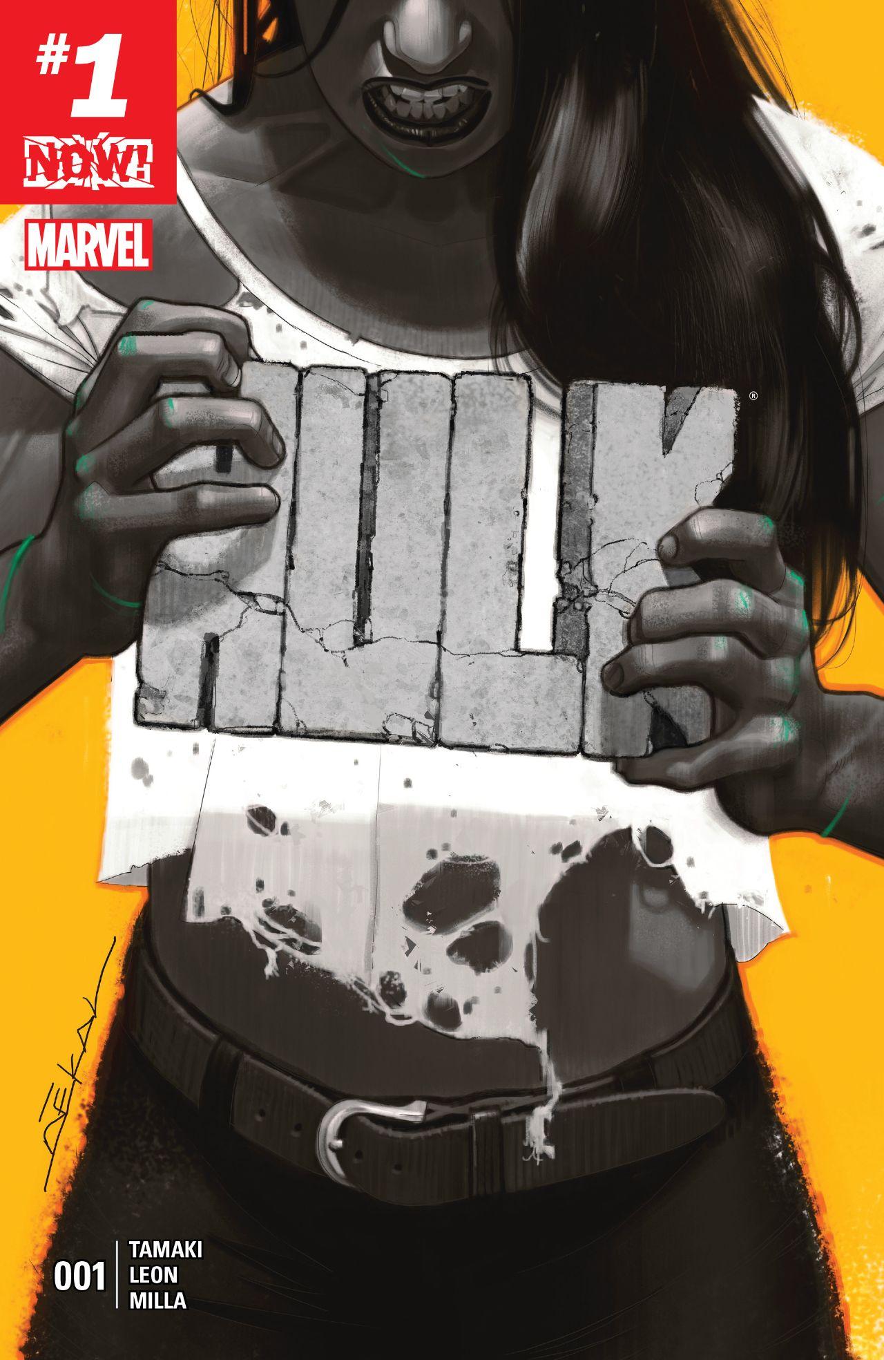 Marvel NOW - The new she-hulk!