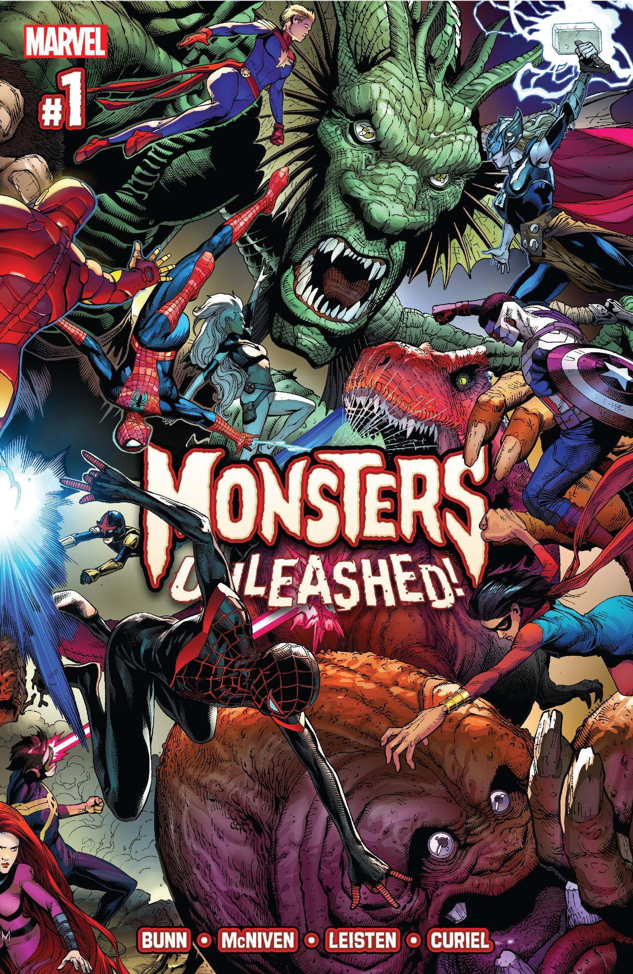 Monsters Unleashed, the newest event from MARVEL COMICS!