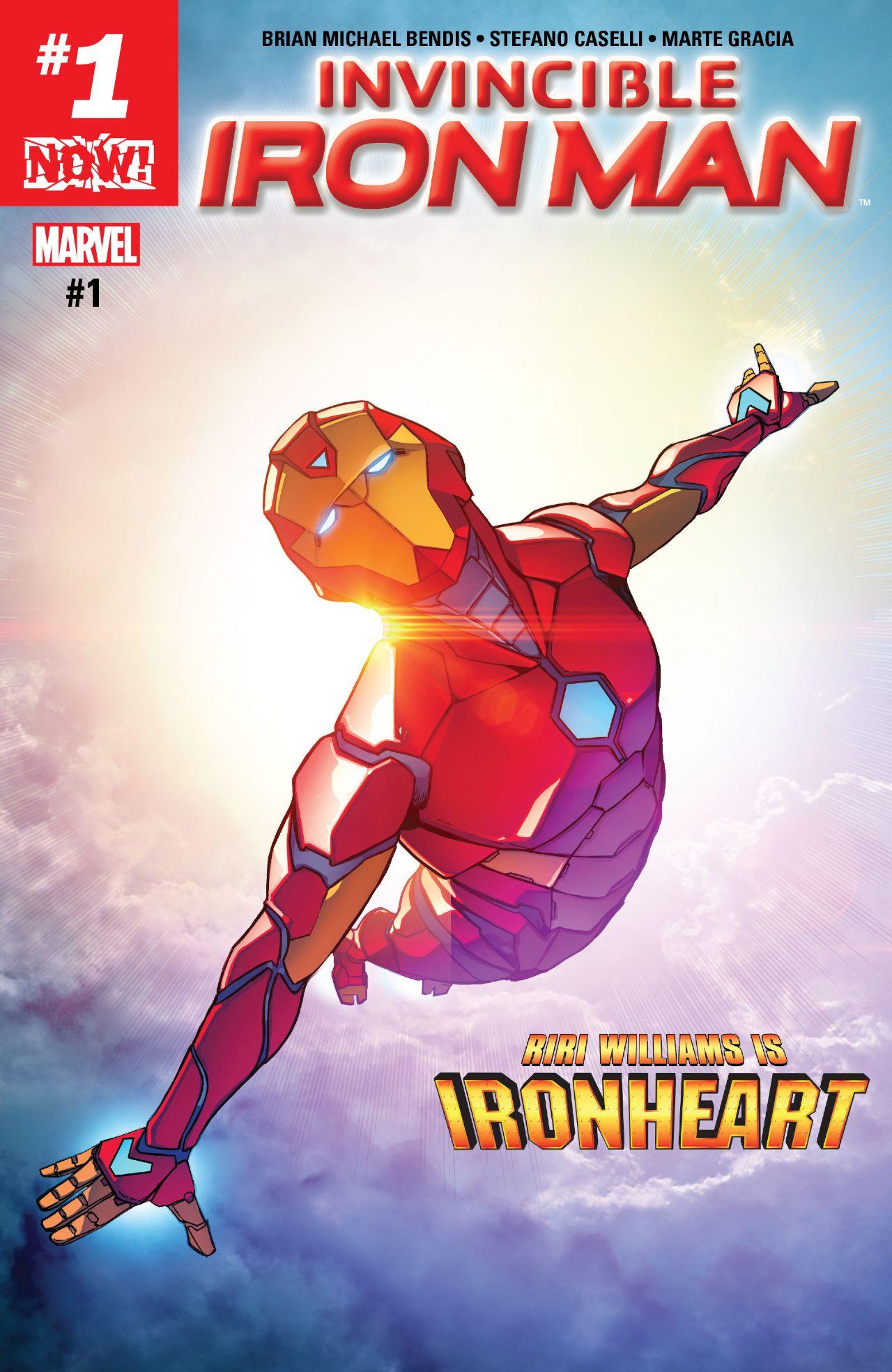 Invincible Iron Man (2016-) #1