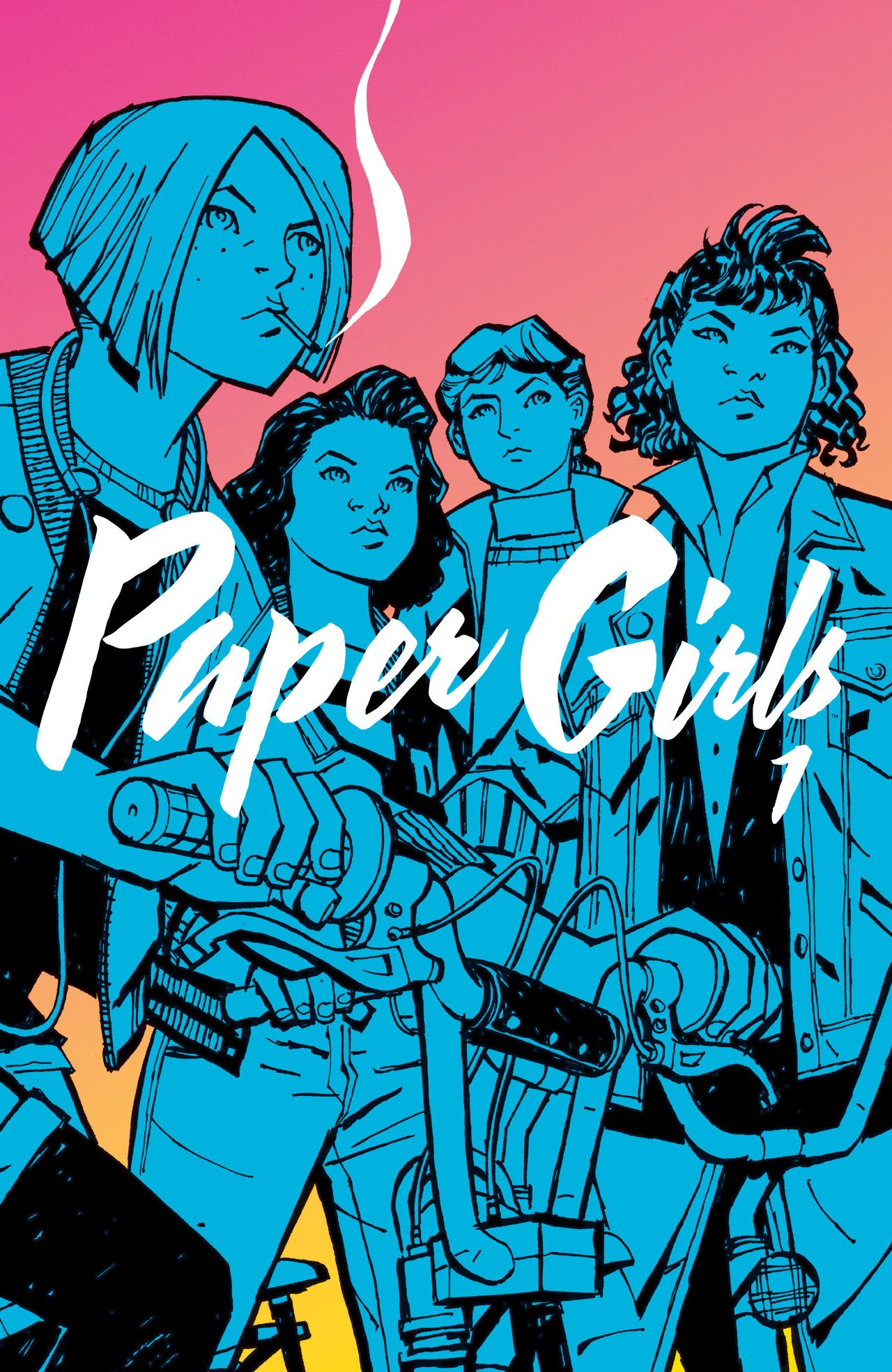 Paper Girls Volume 1 collects issue 1-5