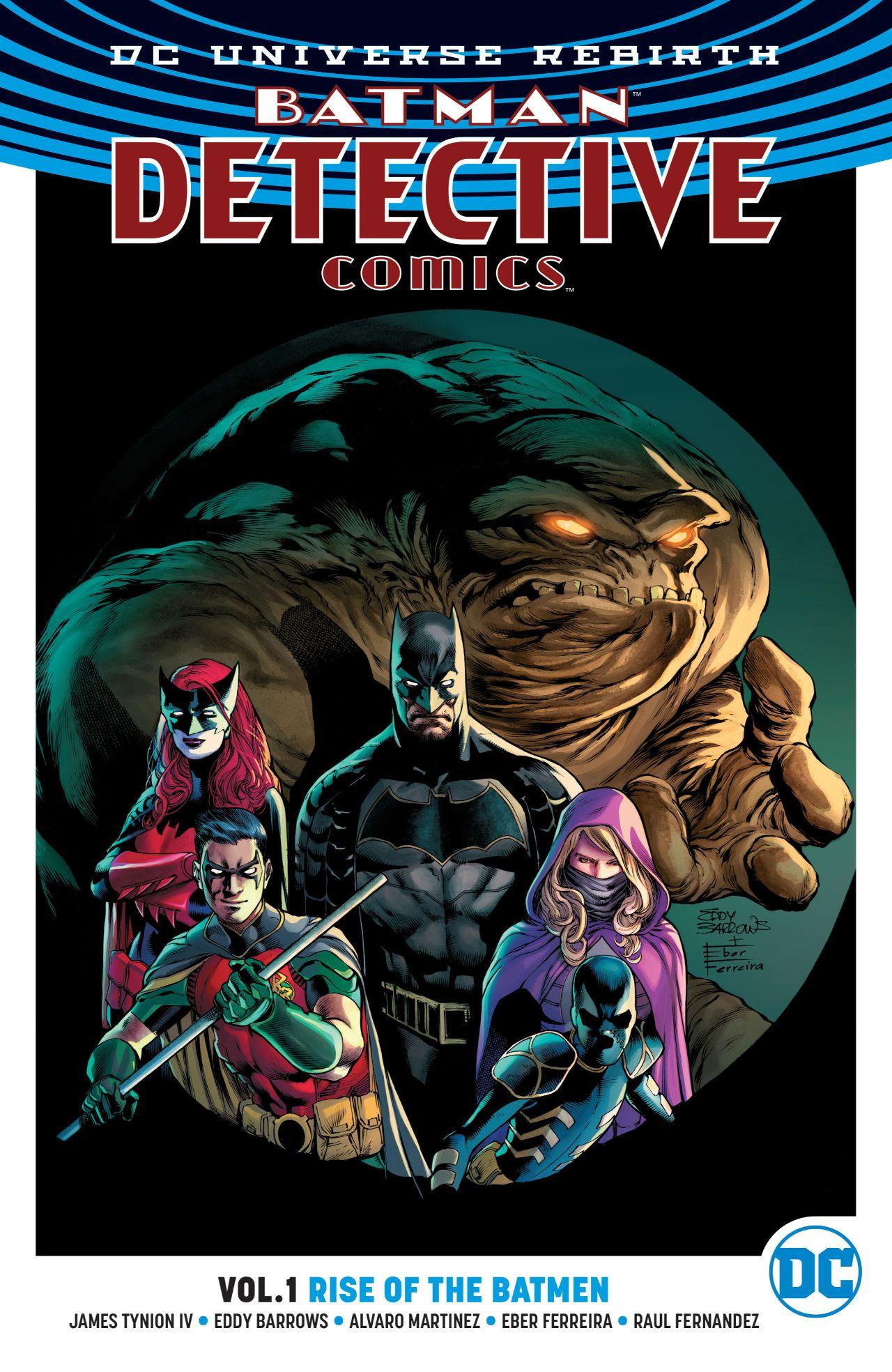 DC universe rebirth - Batman detective comics Vol. 1: Rise of the batmen