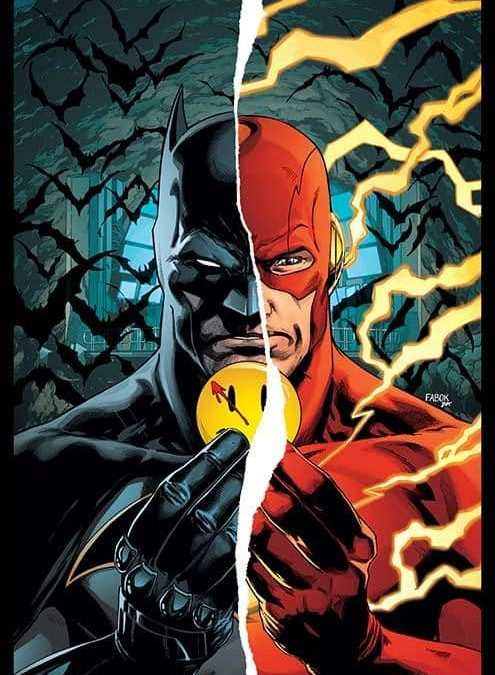 Batman/Flash 'The Button' crossover