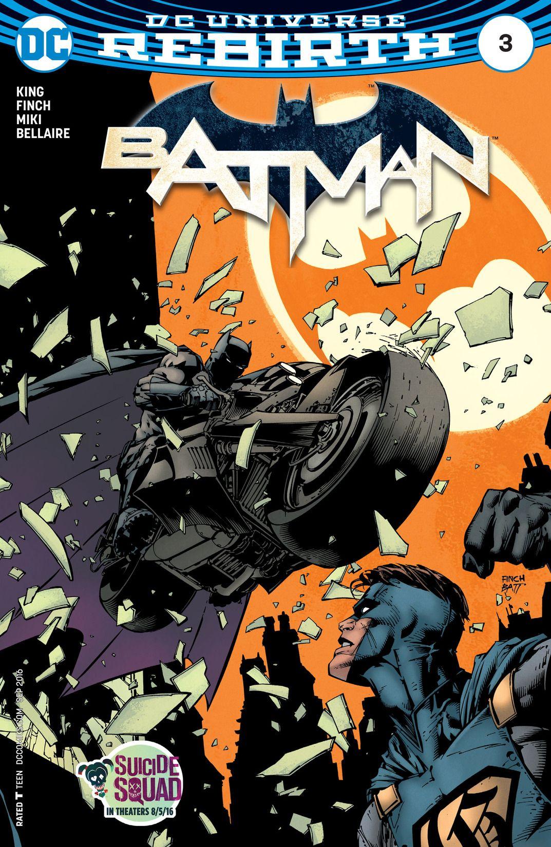Batman REBIRTH #3 from 2016