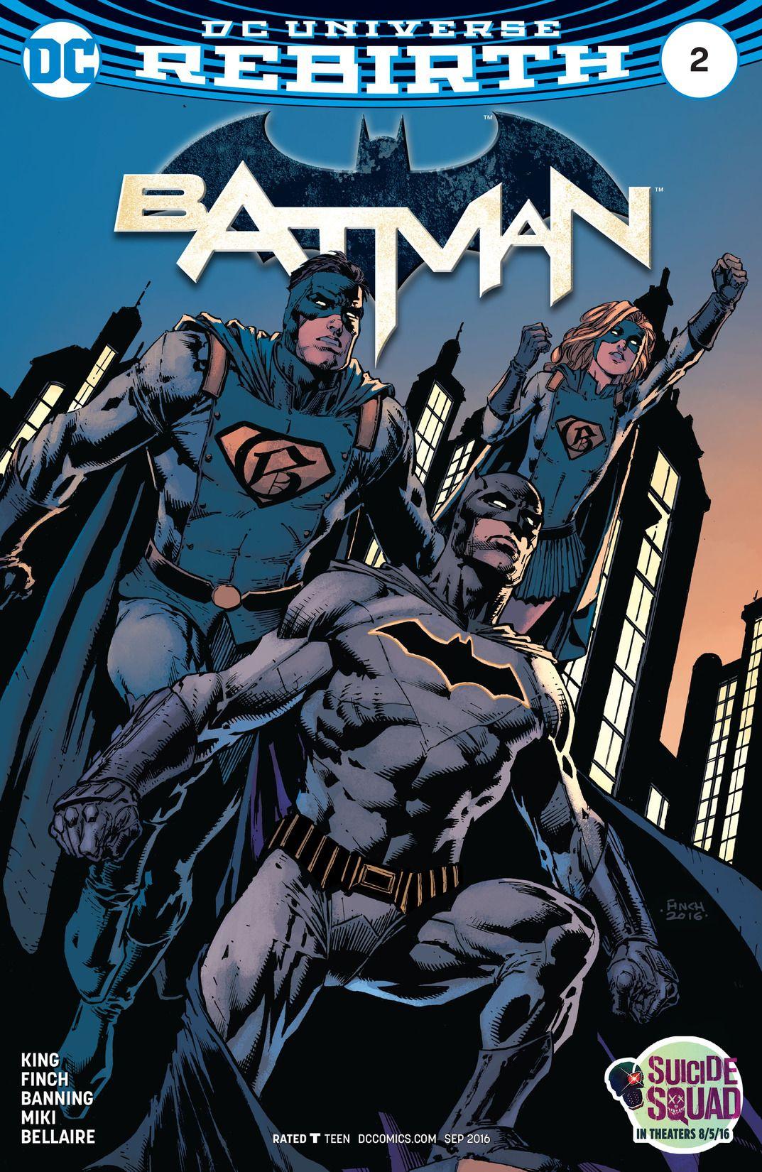 Batman REBIRTH #2 from 2016