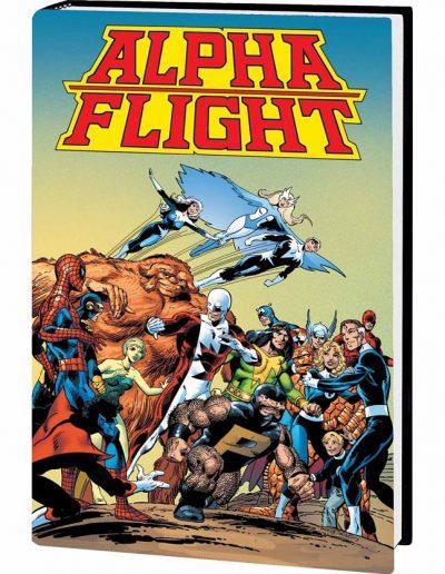 ALPHA FLIGHT BY JOHN BYRNE OMNIBUS HC