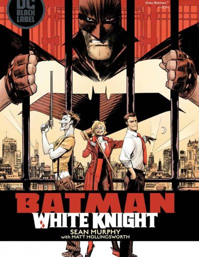 BATMAN WHITE KNIGHT HC